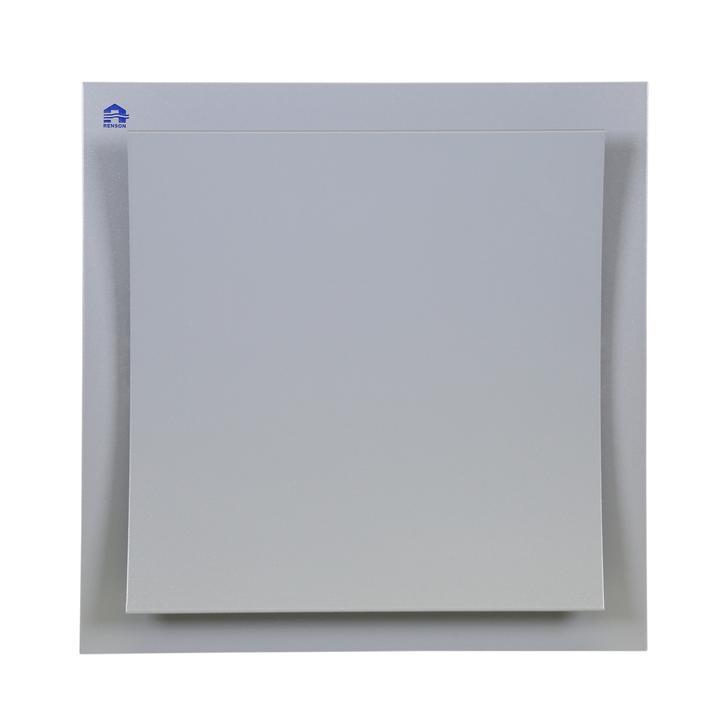 Regelbares Design-Abluftgitter aus Aluminium
